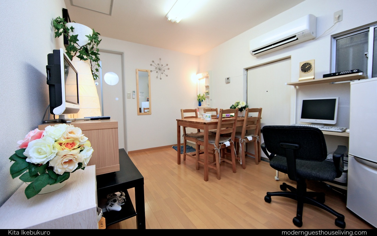 modern living tokyo furnished guesthouses apartments in tokyo